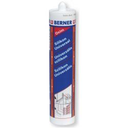 silikon univerzální BERNER transparentní 310g
